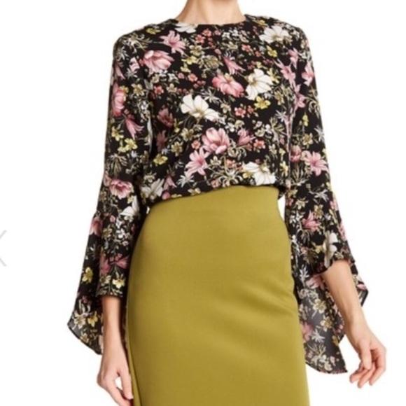 2d03cd6d4412a Catherine Malandrino floral blouse